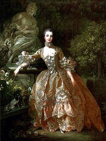 Франсуа Буше. «Портрет мадам Помпадур» — пример идеализированного портрета