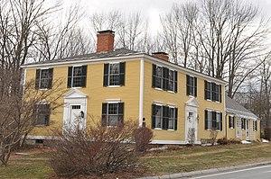 Francestown, New Hampshire - Image: Francestown NH Levi Woodbury Homestead