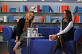 Frankfurter Buchmesse 2011 - Das Blaue Sofa - Padberg und Hübinger.JPG