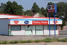 A Franz Bakery Outlet In Gillette Wyoming