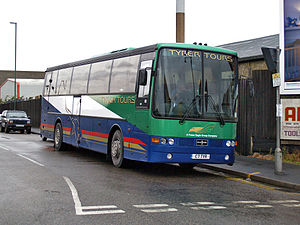 Fraser Eagle - Van Hool bodied DAF in November 2008
