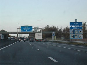 Autoroutes of France - The French autoroute A1