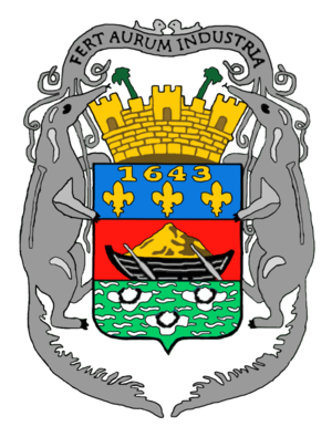 Gallery of coats of arms of dependent territories
