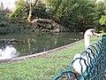 Friendly goose at Parc Bordelais - panoramio.jpg