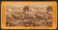 From the Panorama of the Battle of Gettysburg. Gen Gibbon's Brigade repelling Pickett's Charge, by Bennett, H. H. (Henry Hamilton), 1843-1908.png