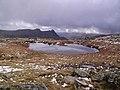 Frozen Tarn , Glaramara - geograph.org.uk - 353134.jpg