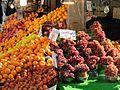 Fruit market in tehran 2013.jpg