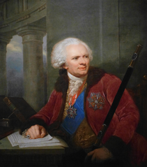 Portrait of Fryderyk Józef Moszyński.