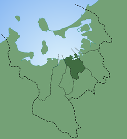 Location of Chūō Ward in Fukuoka