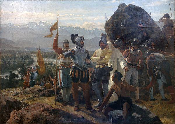 Grundandet av Santiago