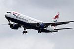 G-BZHB Boeing 767 British Airways (14728541793).jpg
