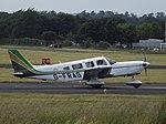 G-FRAG Piper Cherokee Six PA32 (36068497531).jpg
