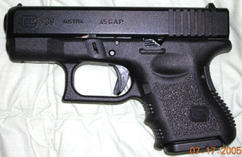 Picture of a Glock-39 Pistol