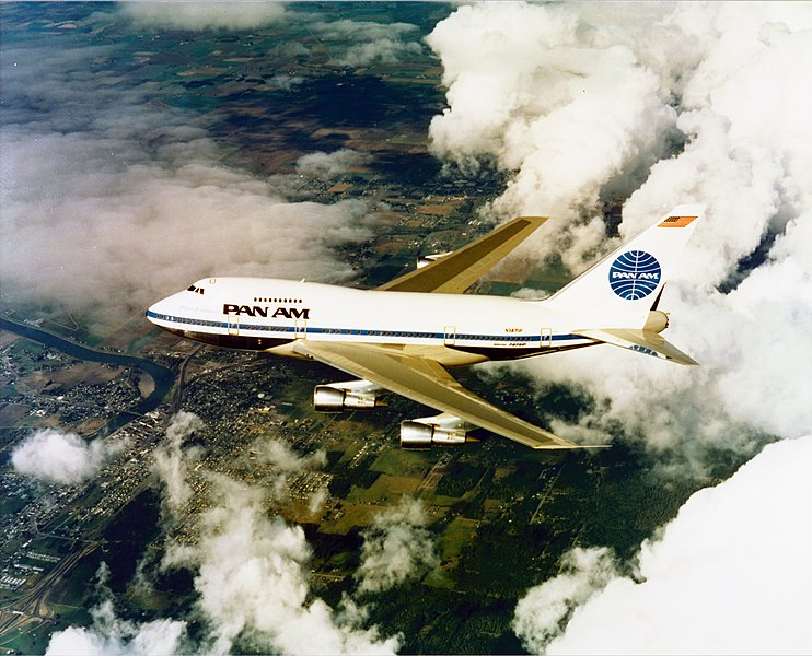 File:GLOBAL AIR SAMPLING PROGRAM GASP - PAN AM PAN AMERICAN AIRLINES 747 SP - NARA - 17447679.jpg
