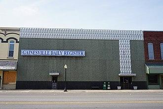 Gainesville, Texas - Gainesville Daily Register building