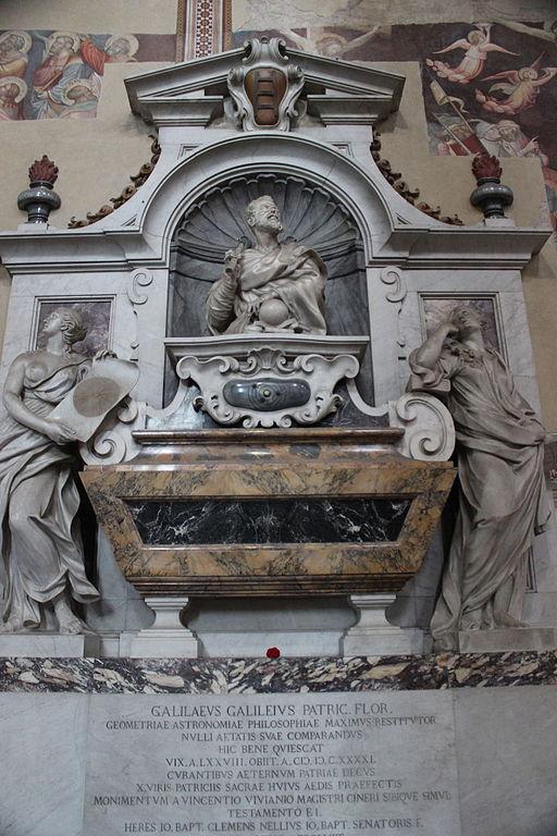 Tomba di Galileo, Santa Croce