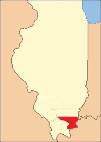 Gallatin County, Illinois - Image: Gallatin County Illinois 1815