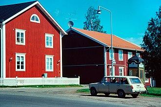 Gammelstad Church Town - Image: Gammelstad b