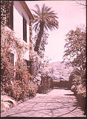 Garden and House in Madeira, by Sarah Angelina Acland, c.1910.jpg