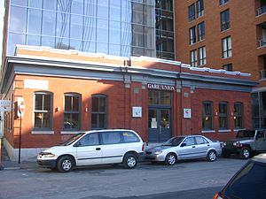 Montreal and Southern Counties Railway - Image: Gare union montreal