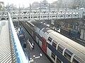 Gare Epinay-sur-Seine - quais Vue de haut.JPG
