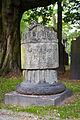 Gartenfriedhof cemetery Marienstrasse Hanover Germany unknown grave 01.jpg