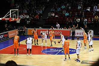 Feyenoord Basketball - The Rotterdam Challengers in an away match against the GasTerra Flames in 2010