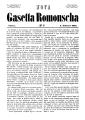Gasetta romonscha 1st issue 1857.png