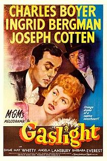 <i>Gaslight</i> (1944 film) 1944 film by George Cukor