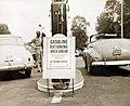 Gasoline rationing at filling station on Pennsylvania Turnpike, September 1942 (34211715144).jpg
