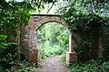 Gate between church and hall - geograph.org.uk - 177324.jpg
