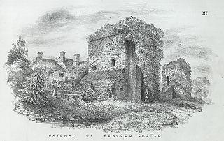 Gateway of Pencoed Castle