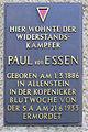 Gedenktafel Essenplatz 9 (Köpe) Paul von Essen.jpg