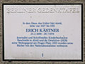 Gedenktafel Prager Str 6 (Wilmd) Erich Kästner.JPG