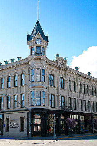 Reportedly haunted locations in Oregon - The Geiser Grand Hotel in Baker City is one of the state's many reportedly haunted locations