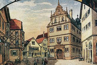 Gemünden am Main - Old town hall
