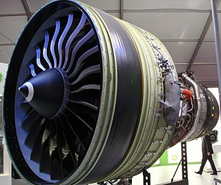 General Electric GE90 High-bypass turbofan aircraft engine