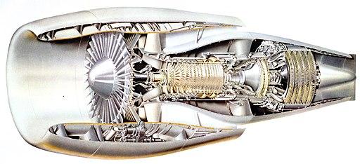 General Electric GE CF6-6 High-bypass turbofan engine - NARA - 17447451 (cropped)