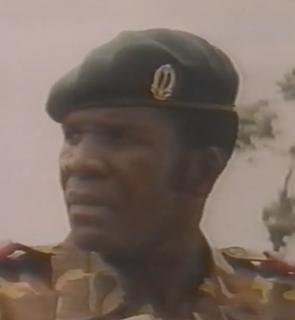 Donatien Mahele Lieko Bokungu Zairean general