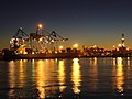 Genova Ports at Night - Yellow.jpg
