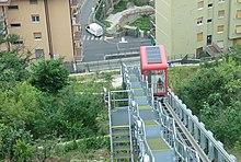 Genova Quezzi elevator.JPG
