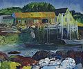 George Bellows - Criehaven Wharf (1916).jpg