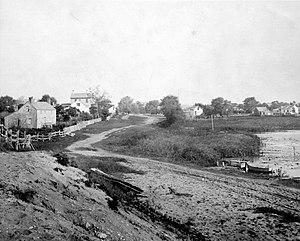 Southampton, New York - George Bradford Brainerd (American, 1845–1887). East Side of Pond, South Hampton, Long Island, ca. 1872–1887. Collodion silver glass wet plate negative, Brooklyn Museum