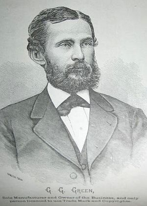 George Gill Green - Image: George Gill Green circa 1878