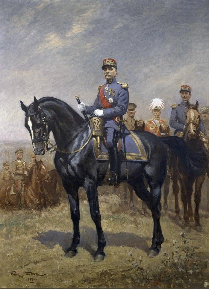 Georges Scott, Foch
