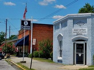 Georgetown, Quitman County, Georgia - Georgetown in 2012.