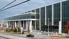 Georgia World Congress Center - Wikipedia on us house of representatives district map, atlanta map, fox theatre map, marietta map, united states map,