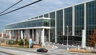Georgia World Congress Center - Image: Georgia World Congress Center from Northside Ave