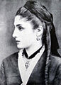 Georgian Woman from 19th century - Matrona Kvariani, prototype of Tinatin..jpg
