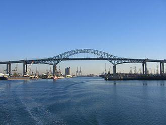 Gerald Desmond Bridge - Image: Gerald Desmond Bridge